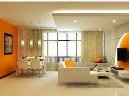 Home Decor Orange Alluring 40 Living Room With Orange Wall Accent Decorating Design