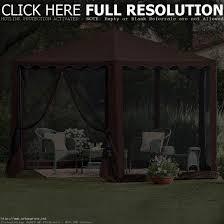 backyard gazebo tent outdoor furniture design and ideas