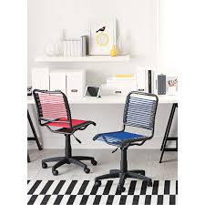 Bungee Desk Chair Blue Bungee Office Chair The Container Store
