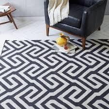 Threshold Indoor Outdoor Rug Threshold Indoor Outdoor Flatweave Grey Greek Key Rug