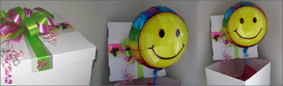 send a balloon in a box balloon in a box gift item delivered direct to your door auckland