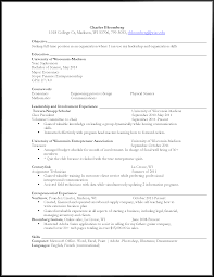 Best Resume Font Bloomberg by Evolution Of An Undergraduate Student Resume