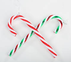 twist plastic candy canes christmas ornaments christmas and