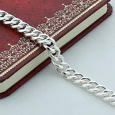 silver bracelet chains images Fashion men 39 s jewelry 925 sterling silver bracelet bangles men jpg