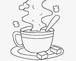 coffee mug coloring page and cup pages glum me