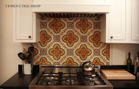 Backsplash In The Kitchen Kitchen Backsplash Cement Tile Shop Blog