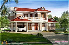 Home Exterior Design Kerala by Nice Red Roof House Exterior Kerala Home Design And Nice Home