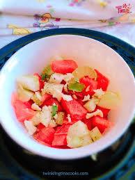 watermelon salad twinkling tina cooks