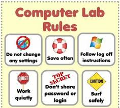 How To Decorate Computer Room Best 25 Computer Rules Ideas On Pinterest Computer Lab Rules
