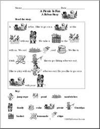 picnic time free english worksheet for kids alice idea