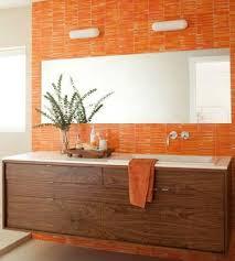 orange bathroom decorating ideas orange bathroom ideas