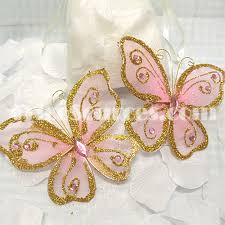 butterfly party favors trico sources inc organza butterfly party favors 4 nfp6120