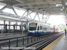 seatac light rail station urbanrail net usa washington seattle light rail