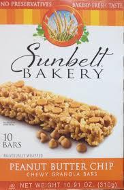 sunbelt bakery oats u0026 honey chewy granola bars 50 total bars