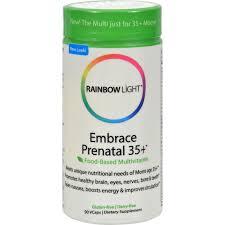 rainbow light prenatal one side effects rainbow light prenatal 35 multivitamin 90 caps age specific