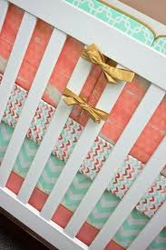 Coral And Gold Bedding Best 25 Coral Baby Bedding Ideas On Pinterest Navy Baby