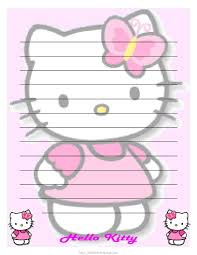 free blank writing paper 6 best images of hello kitty stationary printable free papers free printable hello kitty paper