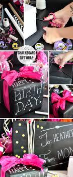 chalkboard wrapping paper diy chalkboard gift wrap tidymom