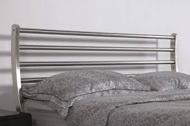 luxury bed stainless steel metal bed iron bed bedroom furniture