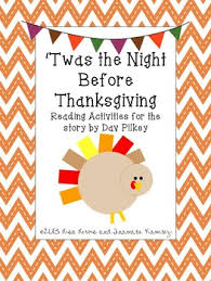 twas the before thanksgiving a one week unit for the story
