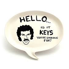 lionel richie cheese plate hello lionel richie key plate jewelry accessories