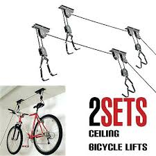 Bicycle Ceiling Hoist by Bike Hanger Pulley U2013 Affordinsurrates Com
