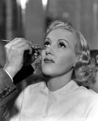 westmore cosmetics the belongs to wally westmore doing betty grable s makeup