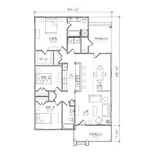 Centralized Floor Plan by Carolinian Iii Bungalow Floor Plan Tightlines Designs