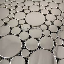 plaque d inox pour cuisine carrelage inox miroir mosaique salle de bain loop miroir carrelage