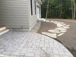 walkway alternative thibodeau landscaping