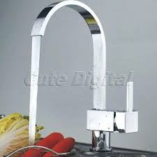 Kitchen Faucet Grohe Grohe Square Kitchen Faucet Lead Free Faucet With Retractable