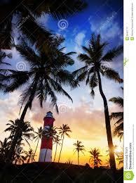 lighthouse at sunset stock photos image 36497713