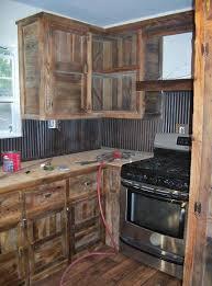 rustic barn wood kitchen cabinets kitchen remodeling project barn wood cabinets rustic