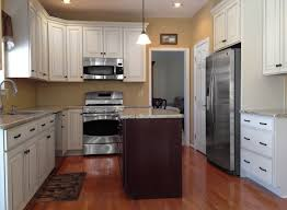 Photos Of Kitchens With Cherry Cabinets Efficient U Shaped Kitchen Design For Small Space