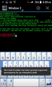 android terminal emulator how to install backtrack on android mobile