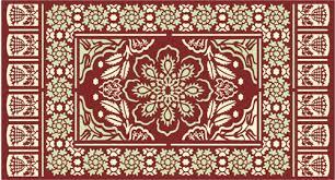 Pattern Ottoman Traditional Pattern Panel Ottoman Stencil Design From Stencil Kingdom