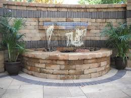 Fire Pit With Water Feature - 918 outdoor in tulsa fireplaces u0026 fire pits