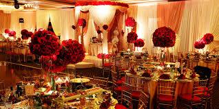 Simple Reception Room Interior Design by Decor Creative Red Wedding Reception Decor Best Home Design