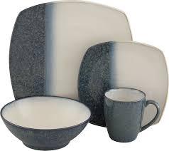 dining room design elegant square gray white sango metallic