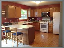 gray kitchen cabinets white appliances kitchen paint colors with oak cabinets and white appliances