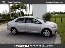2008 Used Toyota Yaris 3dr Hatchback Manual At Royal Palm Toyota