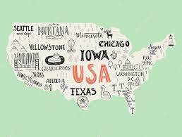 Chicago Map Usa by Road Atlases Great Britain Buy Online American Airlines And Us