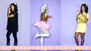 Unicorn Halloween Costume Diy by Last Minute Diy Halloween Costume Ideas Lion Sheep Unicorn