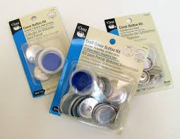 How To Button Upholstery How To Make Covered Buttons With A Button Kit Sew4home