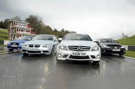 auto express comparison test lexus is f vs bmw m3 vs mercedes