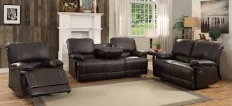homelegance cassville double reclining sofa with center drop down
