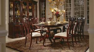 double pedestal dining room table american drew cherry grove double pedestal dining table ebay