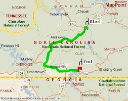 nantahala river map carolina vacation house rentals rates cabin for