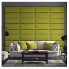 Padded Walls Upholstered Padded Wall Panel In Faux Leather