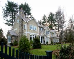 Colonial Style Windows Inspiration Inspired Clapboard Vogue Boston Traditional Exterior Inspiration